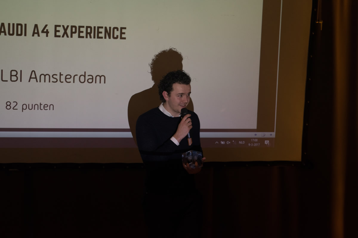 Dutch VR Awards 2017 winnaar THE AUDI A4 EXPERIENCE door DigitasLBI Amsterdam